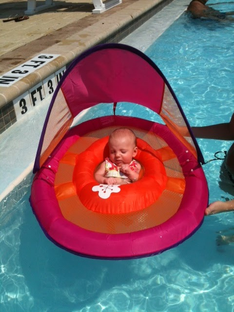 Infant Pool Float Review  sc 1 st  Organized Chaos & Organized Chaos: Infant Pool Float Review