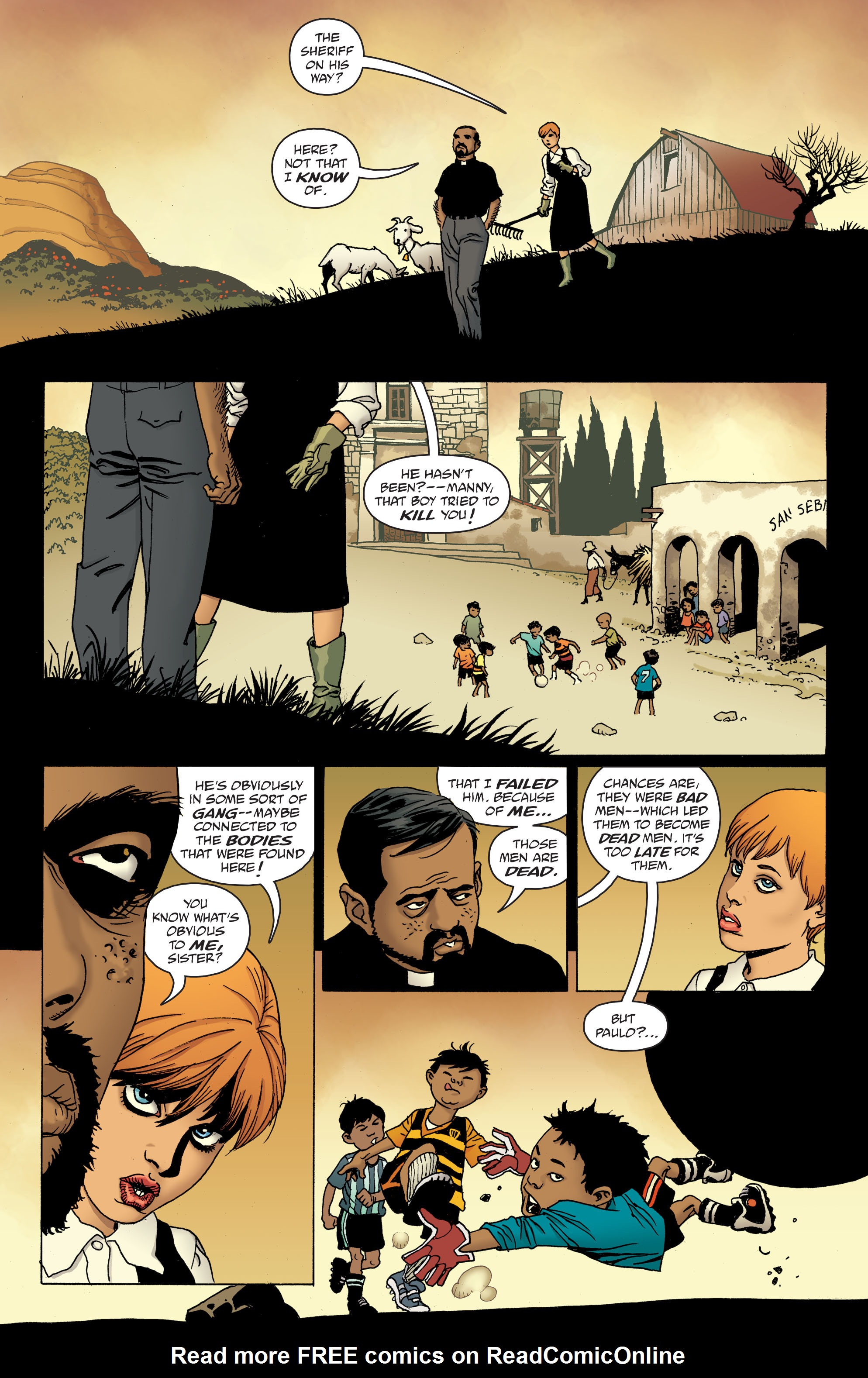 100 Bullets: Brother Lono Full Page 87