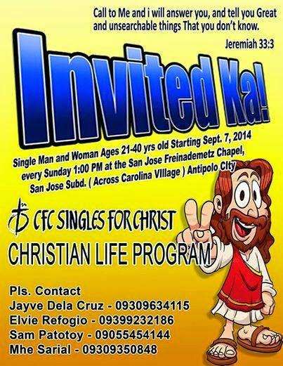 Singles For Christ