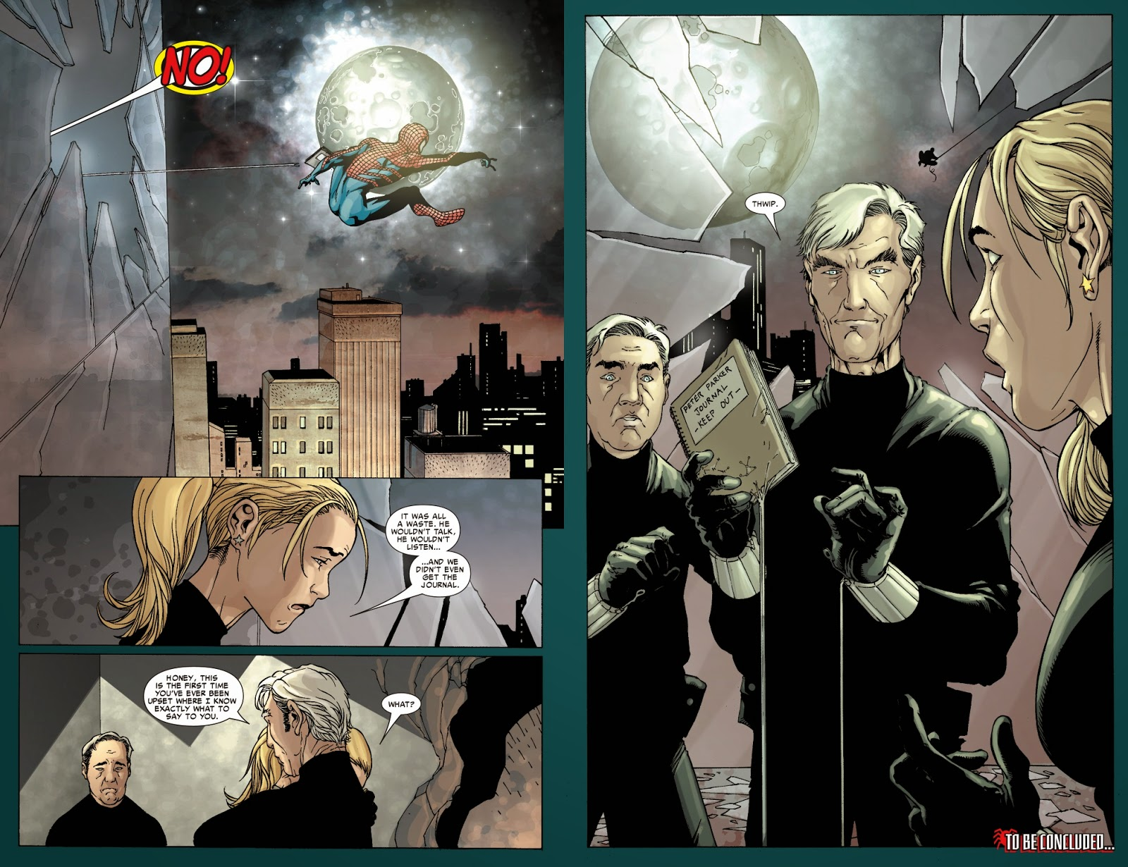 House of m green goblin - The Way I Read That First Picture And Because There S That Giant No It Looked Like They Were Trying To Web Shoot Spider Man And Because Of The State