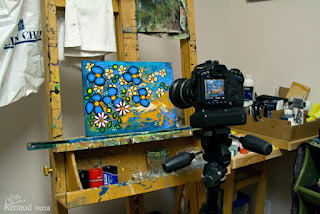 photographier un tableau