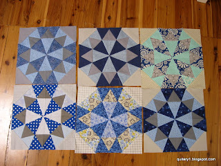 Kaleidoscope Star blocks
