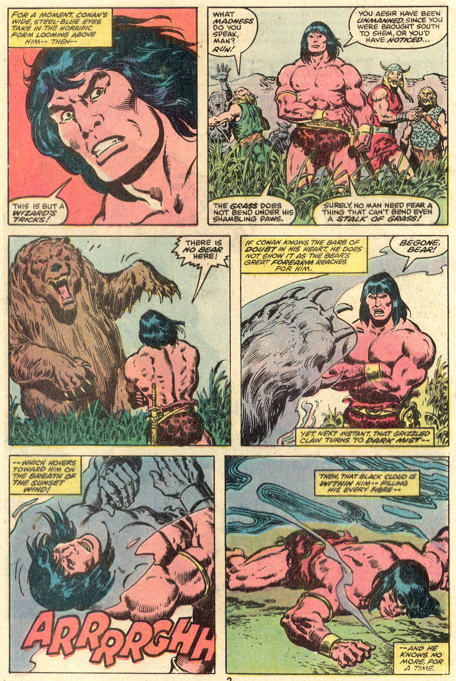Conan the Barbarian (1970) Issue #110 #122 - English 3