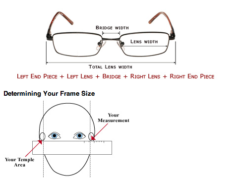 How To Measure Eyeglass Frame Size : Marvelously Messy : A Valentine for You: New Glasses!!!!!
