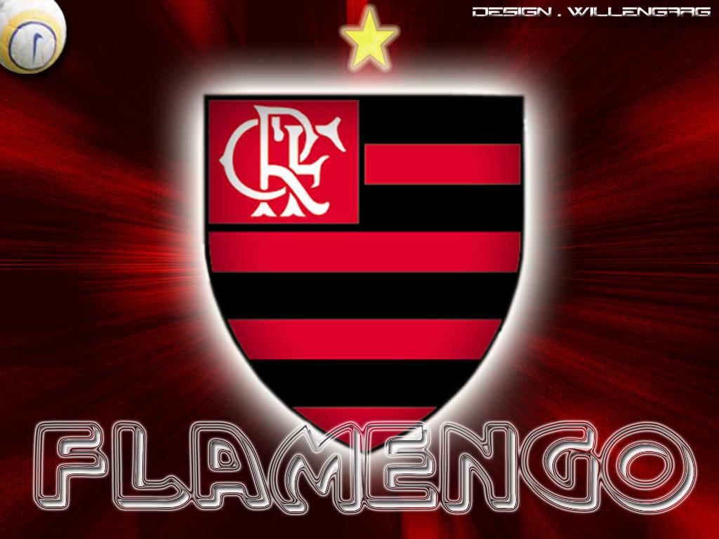 Papel de Parede para Celular Flamengo com Efeito 3D  - imagens flamengo para celular