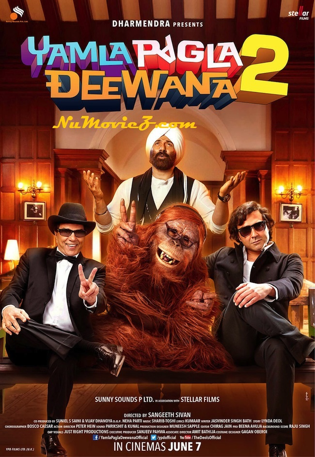 Yamla Pagla Deewana 2 (2013) Full Movie Download