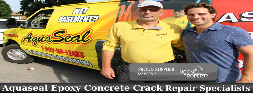 Aquaseal Basement Foundation Concrete Crack Repair Specialists 1-888-750-0848