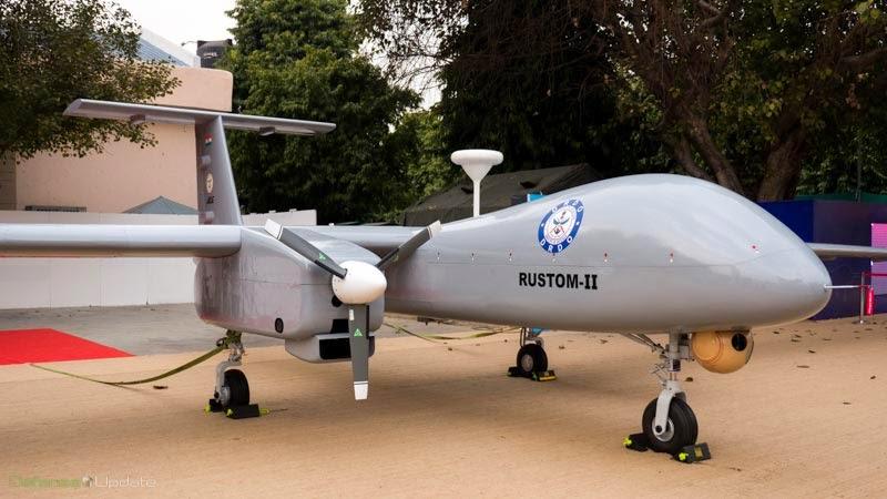 DRDO Rustom 2 UAV