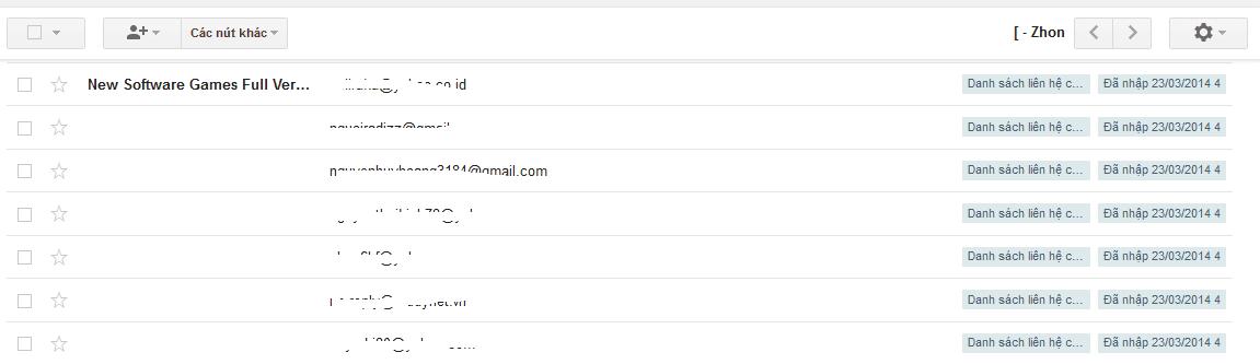 Cách chuyển địa chỉ email từ yahoo mail sang gmail
