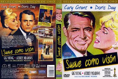 Cover, dvd, carátula:  Suave como visón | 1962 | That Touch of Mink