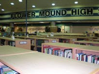Flower Mound High School Library!