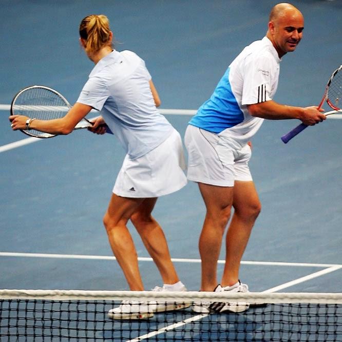 smešna slika: teniser Andre Agasi