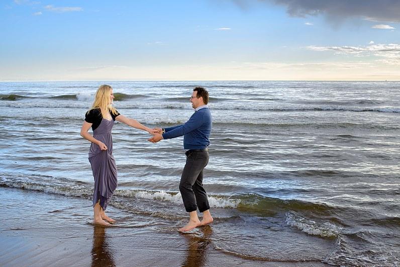 Fotosesija prie jūros