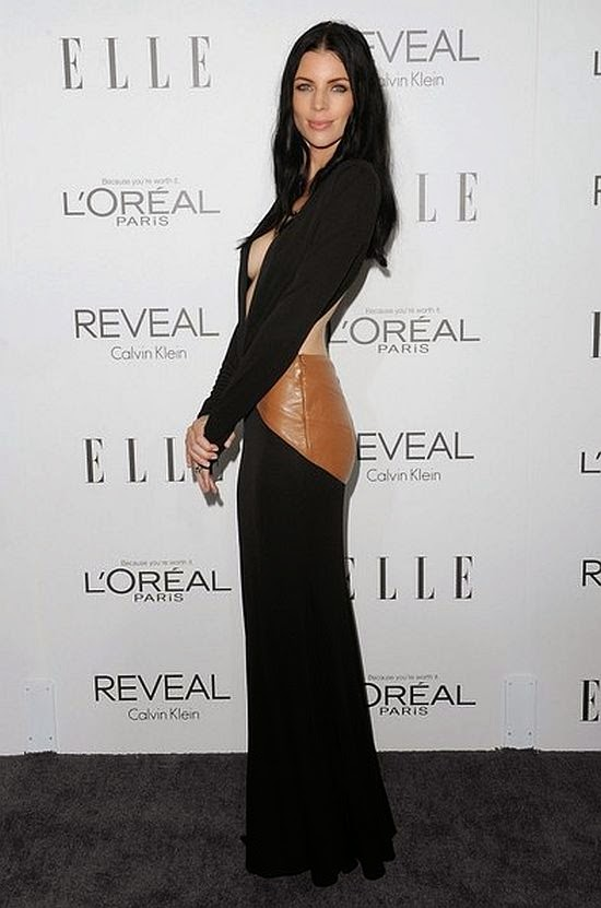 Luckily, we discovered the incredible style as the 36-year-old headed at Elle's 21st annual Women Awards at Beverly Hills, USA on Monday, October 20, 2014.