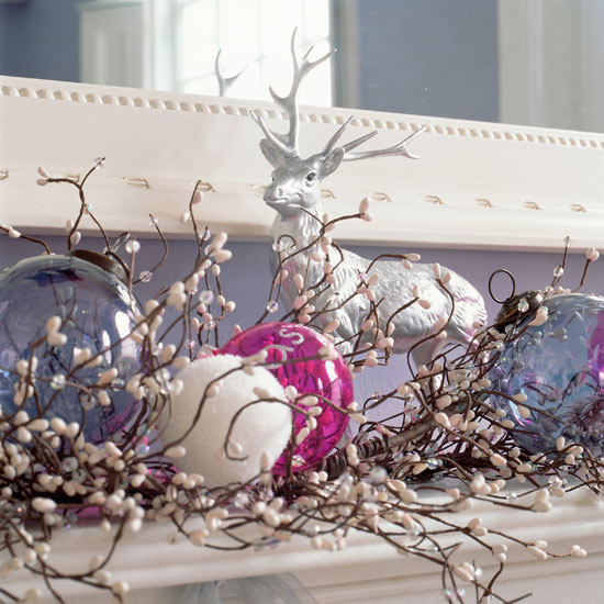 Home decoration design christmas decoration ideas for Home christmas decorations uk