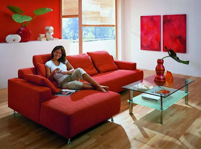 Living rooms In Red