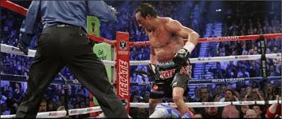 Juan Manuel Marquez knocks Manny Pacquiao