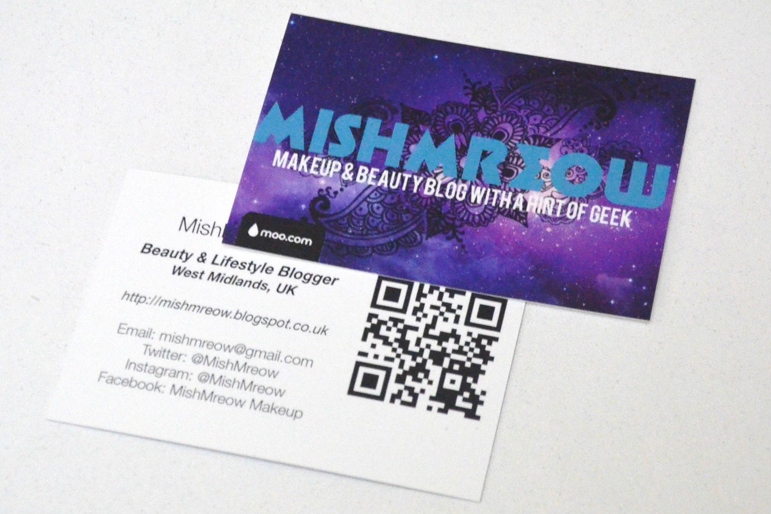 MishMreow: Moo Business Cards