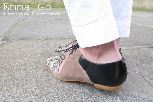 Chaussures cuir Emma Go derbies Casey