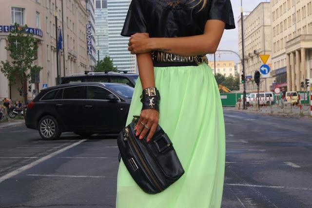 leather purse Victoria Beckham