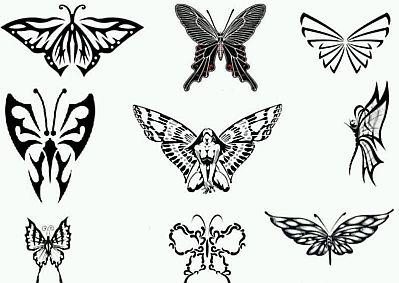 Banco De Imagenes Y Fotos Gratis Tatoos Y Tatuajes De Mariposas