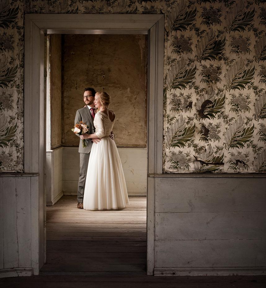 Bryllupsbilder fra gammelt slott i Sverige, Bryllupsfotograf Trine Bjervig, Tønsberg, Larvik, Sandefjord, Horten