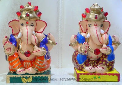 Ganesh Idol Making