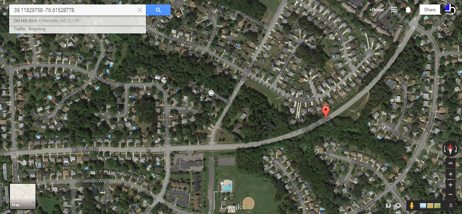 Maryland Map Coordinates%0A Google Maps search for coordinates provided in WiGLE search for   WYHP