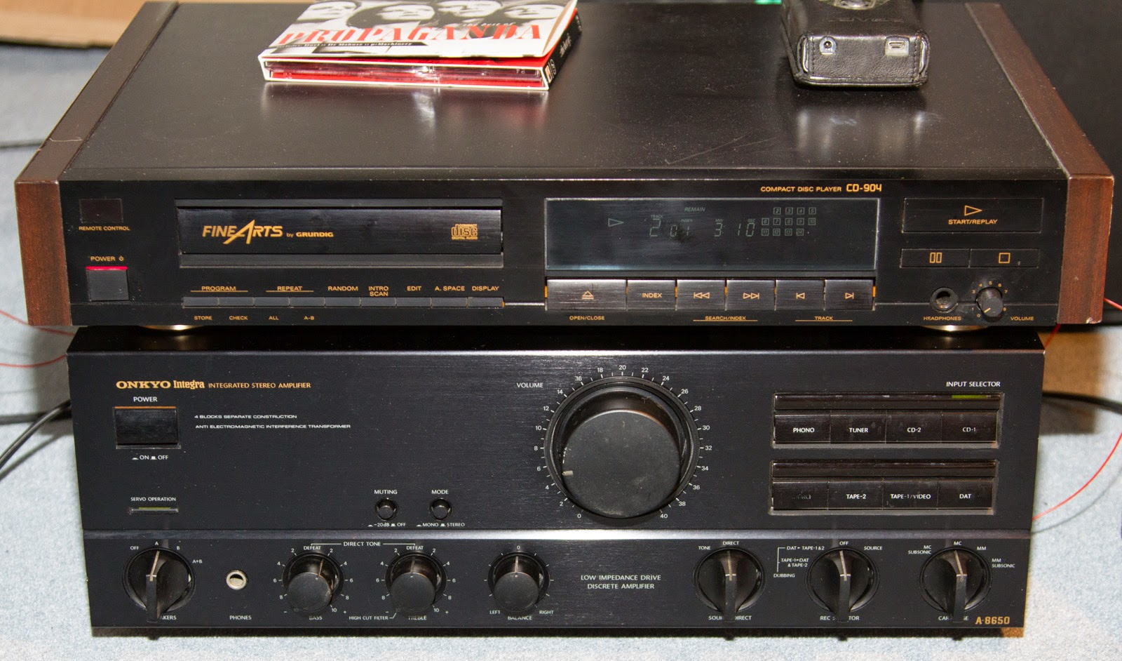 Onkyo A-8650 Refresh (German) | Joe\'s Technology Blog