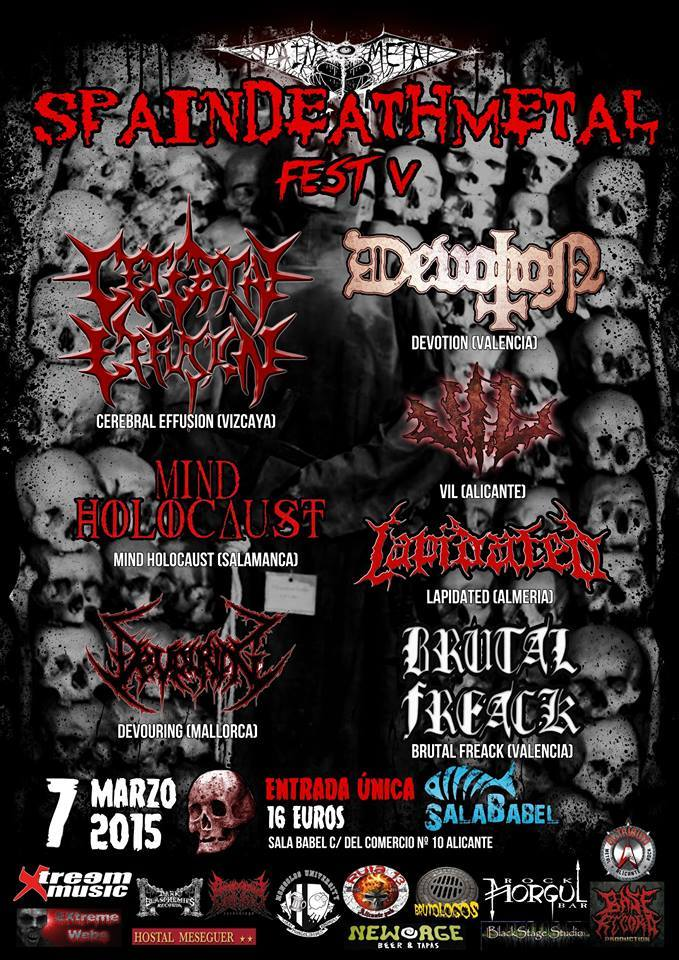 Spain Death Metal 2015
