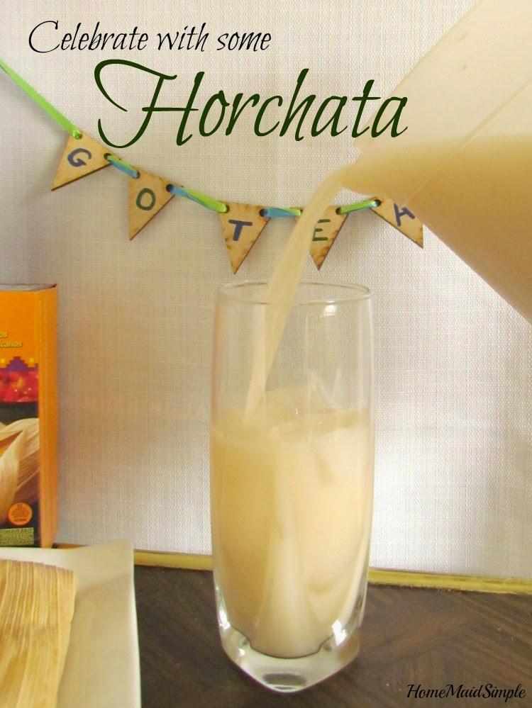 homemade Horchata #DelimexFiesta #Cbias #Ad