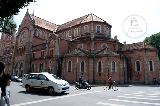 notre dame cathedral ho chi minh , ho chi minh city attraction