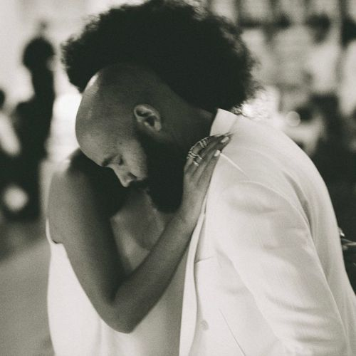 solange+wedding+husband, wedding first dance song ideas, black love