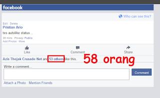 cara auto like status facebook terbaru 2015