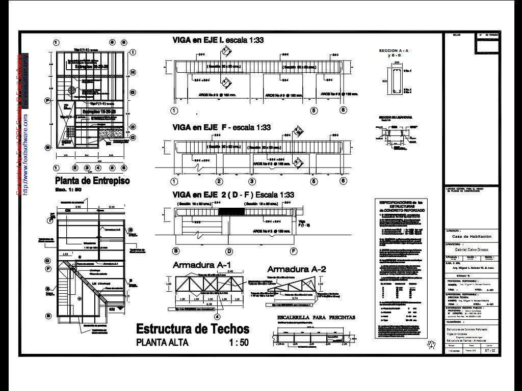 Arq miguel a salazar m asociados casas de tipo medio for Normas para planos arquitectonicos