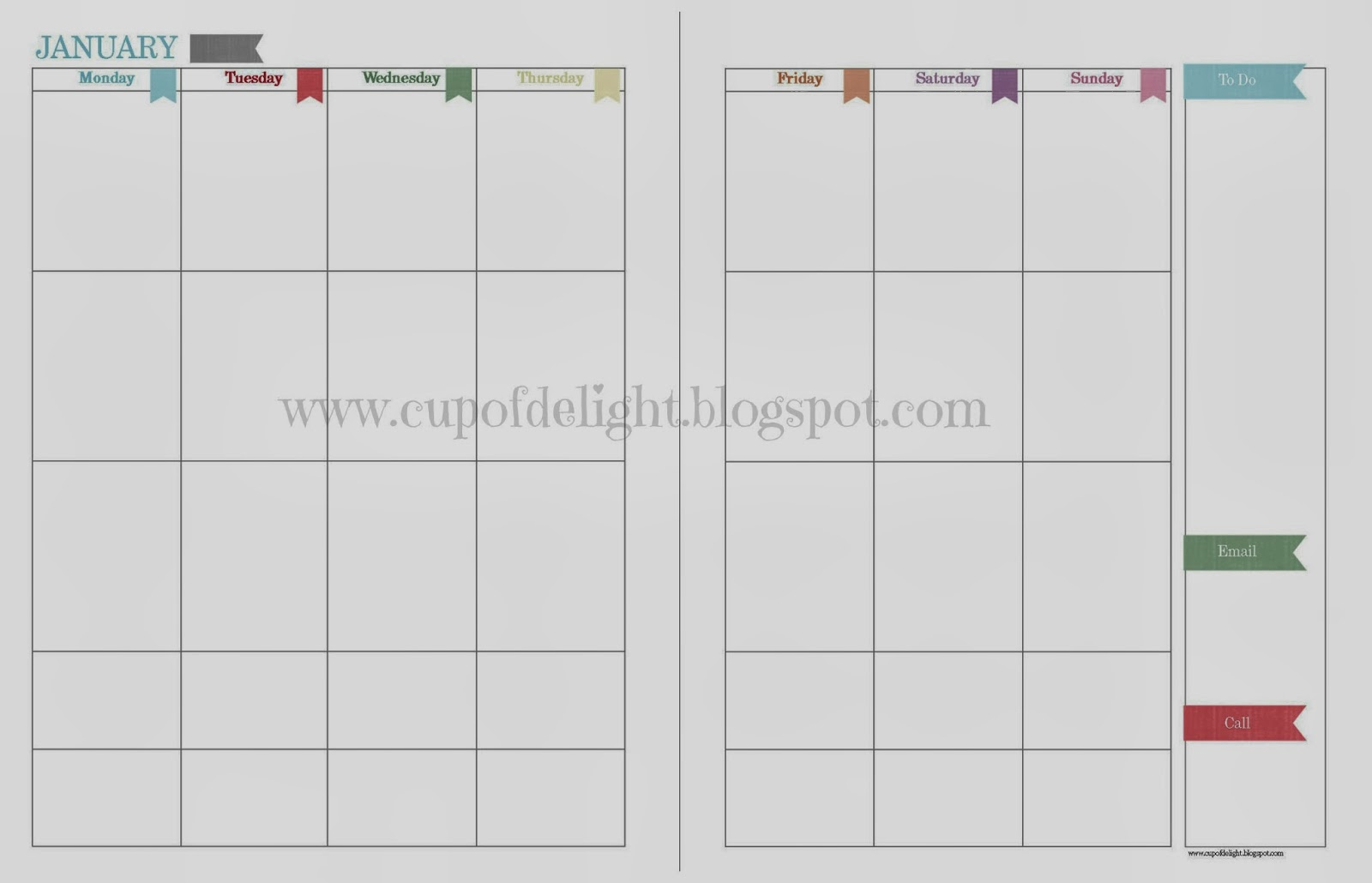 ... Monthly Calendar To Print/page/2 | Search Results | Calendar 2015