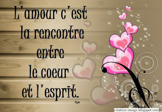 Une photo citation d'amour