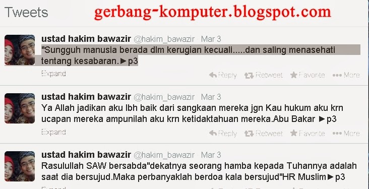 Biodata Lengkap Ustad Hakim Bawazier