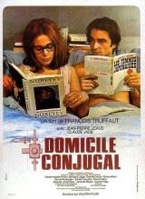 Domicilio conyugal (1970) comedia de François Truffaut