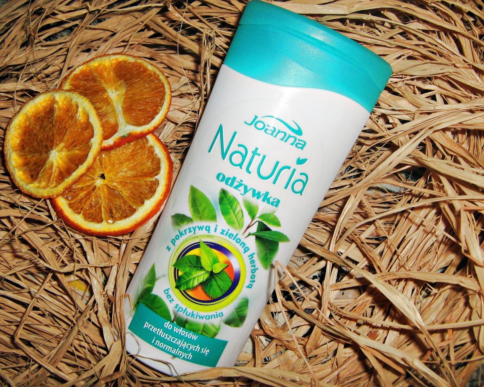 Joanna Naturia - Odżywka z pokrzywą i zieloną herbatą