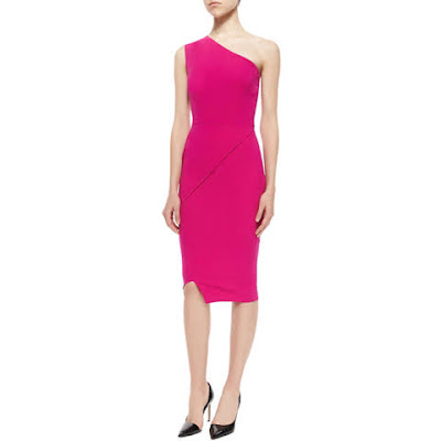 grife victoria beckham vestido one shoulder
