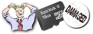 Cara Memperbaiki Micro SD Yang Rusak Error Tidak Terdeteksi