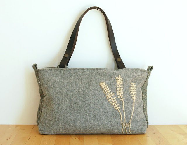 Bag from the Herbarium Collection by Mundo Flo