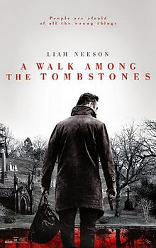 A Walk Among The Tombstones (2014) Movie Poster Liam Neeson