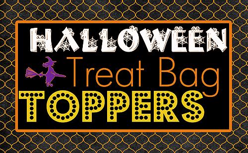 Blooming Homestead Halloween Bag Toppers Free Printable