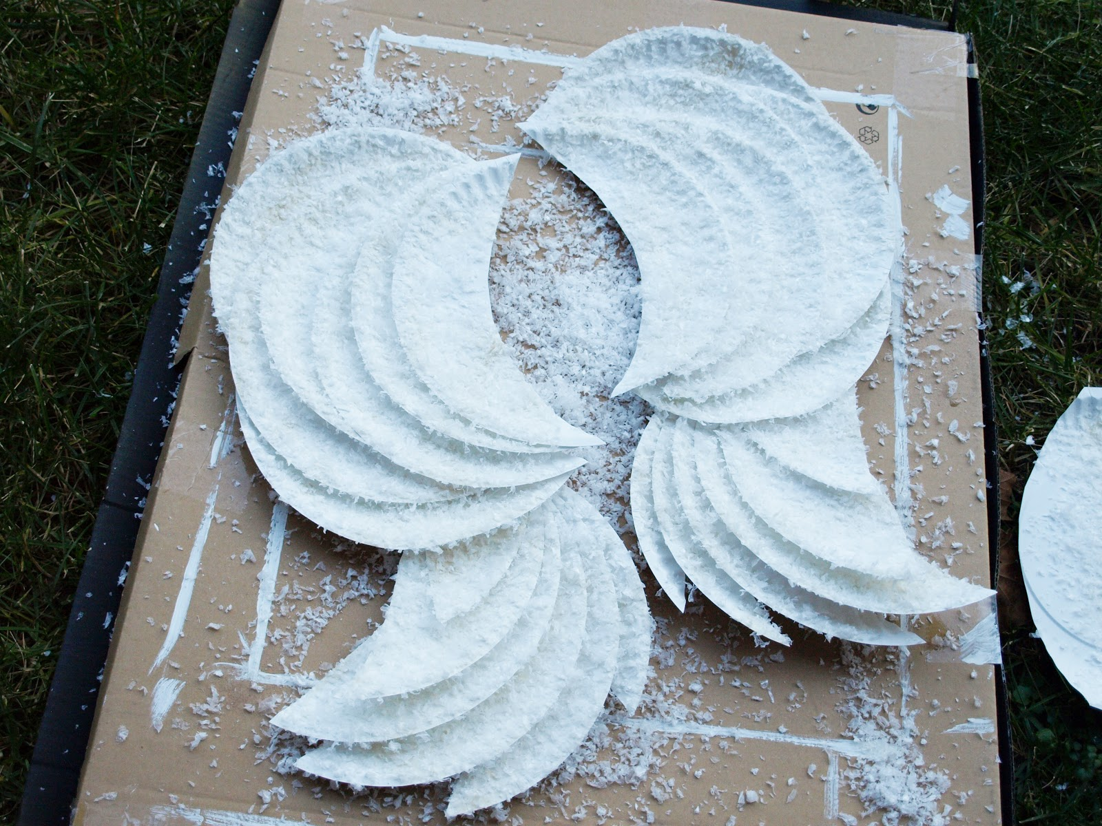 DIY Angel Wings Less Than Perfect