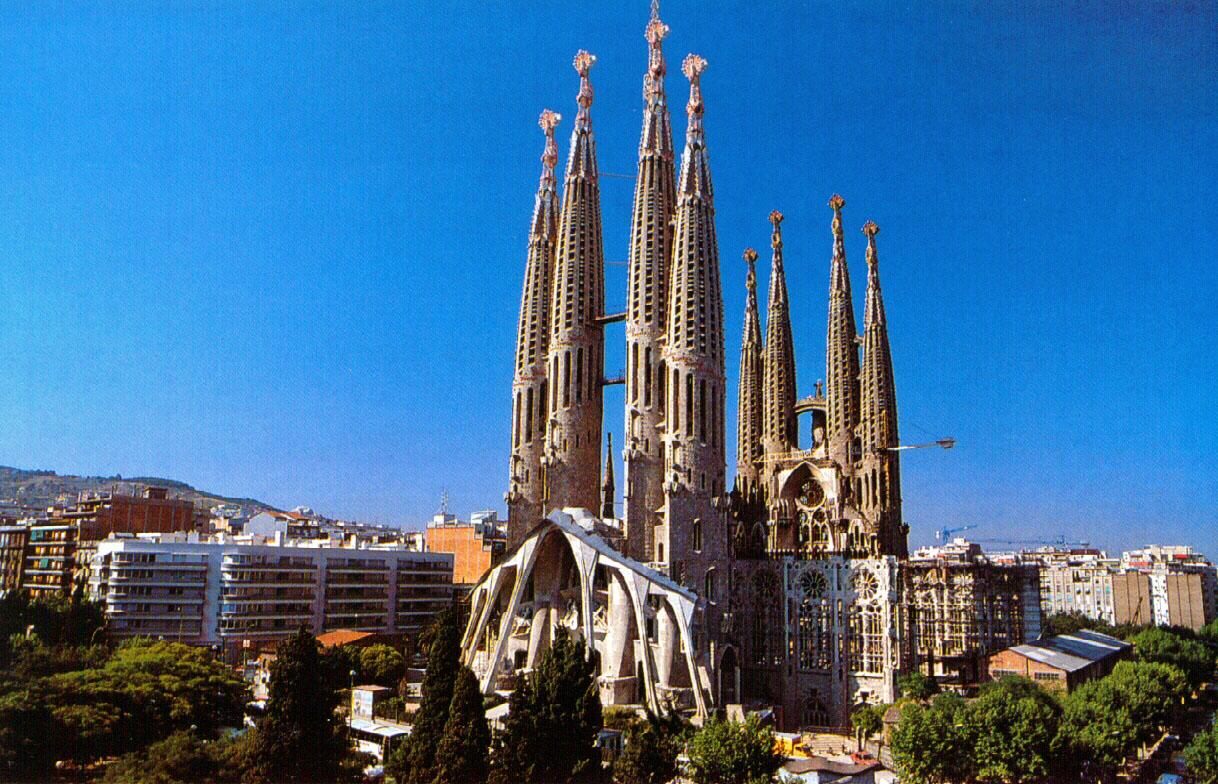 Terraqueoscopio catedral de la sagrada familia en barcelona for De la sagrada familia