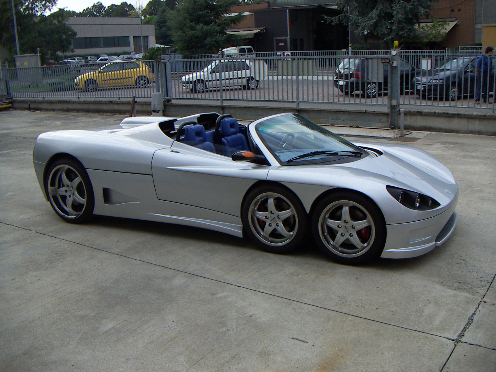 2006 Covini C6w Spider Car Wallpaper Auto Trends Magazine