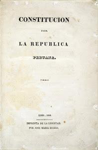 Constitución para la Republica Peruana 1826