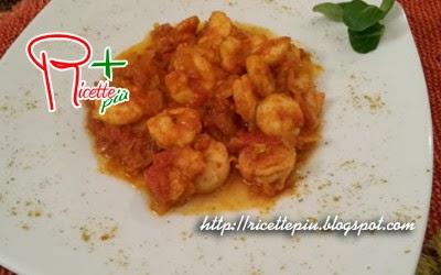 Gamberi al Curry di Cotto e Mangiato